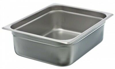 4 Half Size Anti-Jam Steam Table Pan Restaurant Commercial Kitchen Steam Table
