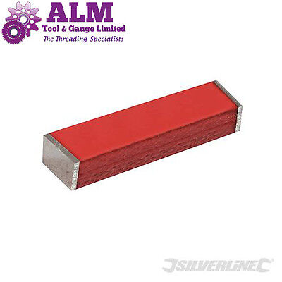 2x Silverline Bar Magnets 40mm long x 12.5mm wide x 5mm thick strong magnets