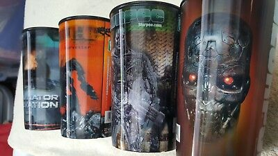 YOU WILL GET 4 DIFFERENT CUPS Terminator Salvation Movie 22oz 2009