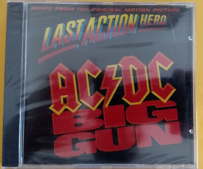 AC/DC Big Gun PROMO CD SINGLE Last Action Hero Soundtrack BRAND NEW Rick Rubin