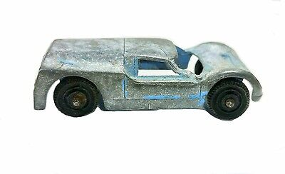 Vintage Tootsietoy Blue Ford GT #1 Made in USA!