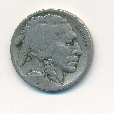 1921-S Buffalo Nickel-Key Date! Nice Circulated Buffalo Nickel-Ships Free!