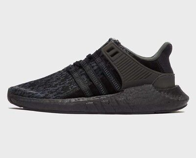 size 40 c8e2d 9a28e Adidas Eqt 9317 Triple Black Primeknit Boost Shoes Us8.5 Deadstock New