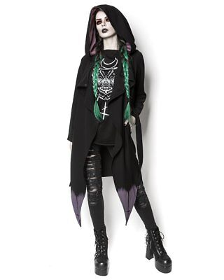 Ring Bague The Rogue The Wolf Corrupt Black Mystic Witch Heart Gothic Gothique