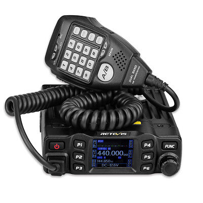 Retevis RT95 Dual Band 200 Channels Mobile Car Ham Radio Transceivers Receivers