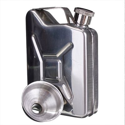 Wedding Party Bar Alcohol Drinkware Hip Flask With Funnel Liquor Whisky Bottles