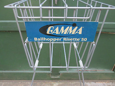Tennis Gamma Risette 50 Vintage Tennis Ball Hopper Very Good Used Condition