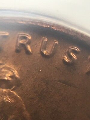 1971 1C RB Lincoln Cent ANACS MS64RB WDDO-004 Stage B  6010545 DDO Double die