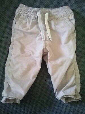 3 M Months Baby Girl Carters Bottoms Pants Tan One Piece Spring Fall Summer