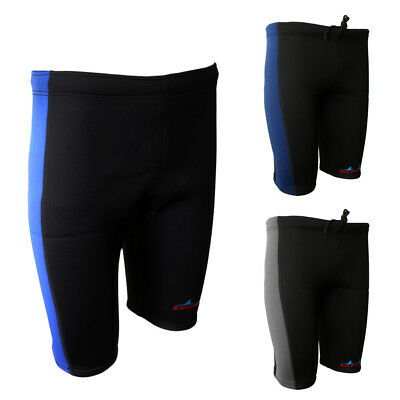 Stretchy 3mm Neoprene Warm Wetsuit Shorts Pants Canoe Kayak Surf Swim S-XXL Size
