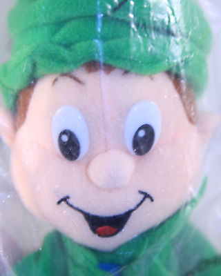 Lucky the Leprechaun Breakfast Pals Lucky Charms Cereal Plush Toy Beanie