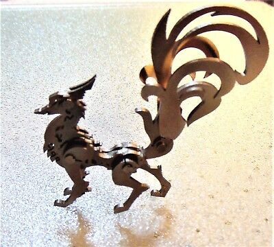 New NINE-TAIL FOX FANTASY FOLK FIGURE, No Assembly Required!