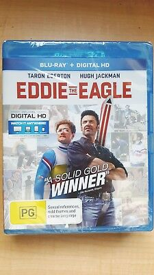Eddie The Eagle [BluRay] NEW & SEALED, Region B, FREE Next Day Post from NSW