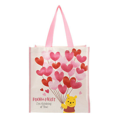 Disney Store Japan Shopping bag eco bag Heartful time Winnie the Pooh & Piglet