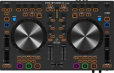 GUT: Behringer ZB766 CMD STUDIO 4A DJ MIDI Controller with 4-Channel Interface
