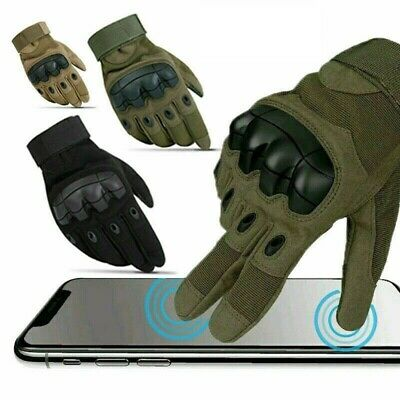 Touch Screen Tactical Gloves - Army Military Hunting Shooting CS Police Security
