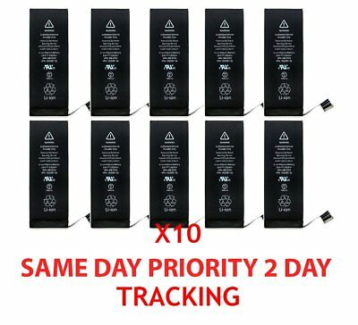 """10X 1810mAh Li-ion Battery Replacement With Flex Cable For Apple iPhone 6 4.7"""" H"""