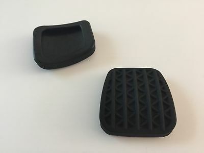 For Astra H MK5 OEM 90498309 2 x Black Clutch Or Brake Pedal Pad Rubber Cover