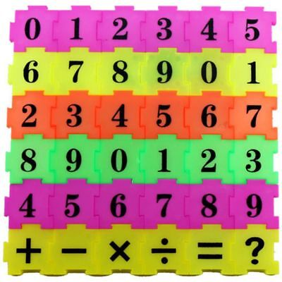 Early Learning Toy Numbers Developmental Arithmetic Gift Jigsaw Math Baby
