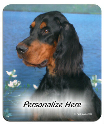 Gordon  Setter  ( 2 )   Personalized  Mouse Pad