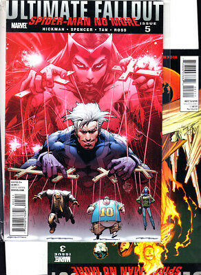 ULTIMATE FALLOUT  nºs  3. 5. ( LOTE 2 NUMEROS ) MARVEL ORIGINAL EN INGLES.