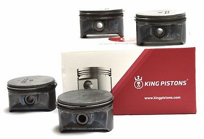 Opel Vauxhall 1.6 16V Set Of 4 Pistons Z 16 Xep 0.50Mm Supplied With Riken Rings