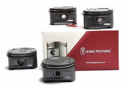 Vauxhall Opel 1.4 16V Set Of 4 Pistons Z 14 Xep Std Supplied With Riken Rings