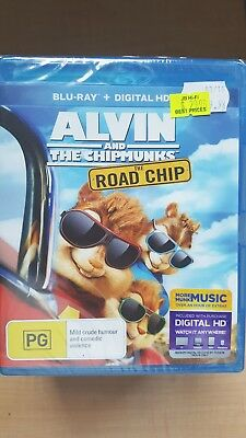 The Alvin And The Chipmunks - Road Chip [BluRay] NEW & SEALED, Region B,freePost