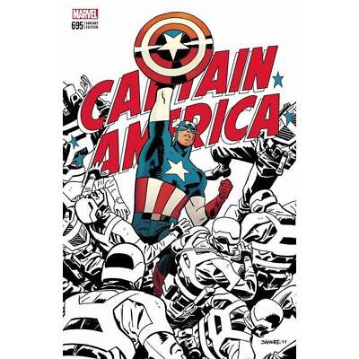 Captain America #695 Samnee Variant Limited Edition Marvel LCSD 2017 Brand New