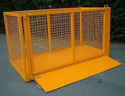 Forklift Goods Carrying Cage - Manufactured to suit your requirements