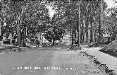 Belfast ME Primrose Hill Real Photo Postcard