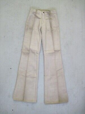 70s LEVI'S 609 CORDS Flares W30 Jeans Schlag Cord Hose Booty Hippie True Vintage