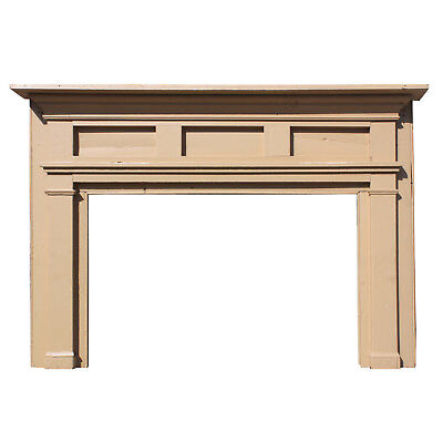 Reclaimed Antique Pre-Civil War Fireplace Mantel, NFPM160