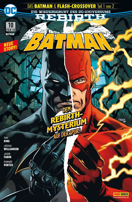 Batman 10 (Rebirth) - Deutsch - Panini - Comic - NEUWARE