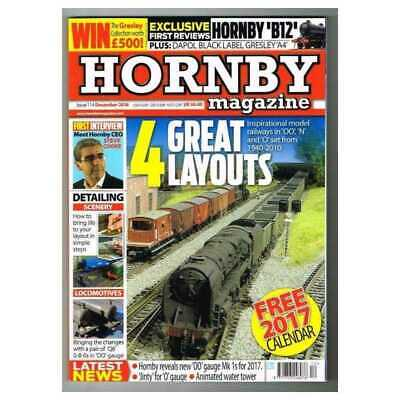 Hornby Magazine December 2016 MBox2938/A  4 Great layouts - Hornby 'B12'