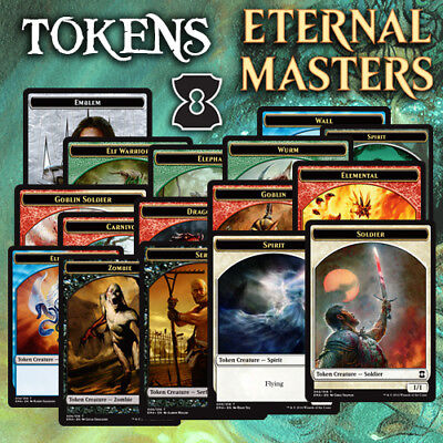 Choose Your Eternal Masters - Tokens Mtg - Buy 1 Get 3 Free!! (Add 4 to Basket)