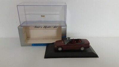 BMW E36 3 series cabriolet 1992 red Minichamps 1/43 430 023332