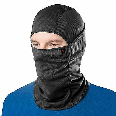 Le Gear Pro Plus Face Mask (Black) Protection From wind, Dust, Cold, Pollution