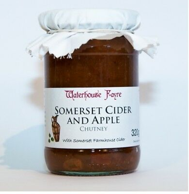 Somerset Cider and Apple Chutney 320g From Exmoor
