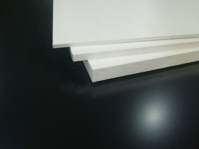 White Matt Printable PVC FOAMEX FOAM Sheets Sign Display Foamboard Mounting