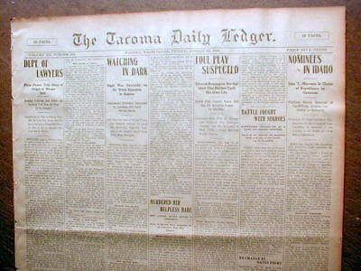 1902 newspaper 3 BLACK MEN LYNCHED in SHANNON Mississippi by White mob TUPELO