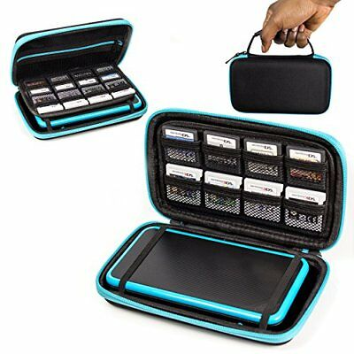 Orzly carry case for new nintendo 2ds xl or 3ds xl black for Housse nintendo 2ds