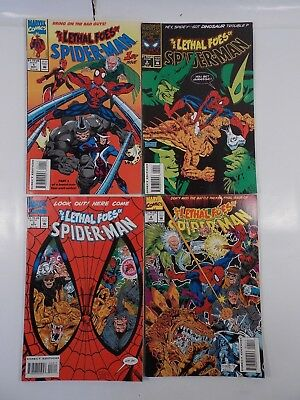 Marvel Comics The Lethal Foes Of Spider-Man #1-4 Complete Set Full Run 1993