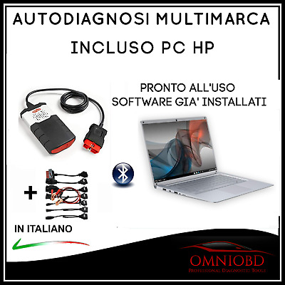 "Autodiagnosi Multimarca  Tablet 10"" Con Doppio Software Diagnosi Auto Obd Obd2"