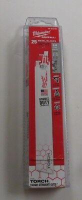 Milwaukee 48-00-8787 9 in. 14 TPI The Torch Sawzall Blade (25 Pk)