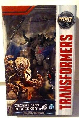 Transformers The Last Knight Premier Edition Deluxe Decepticon Berserker MISB