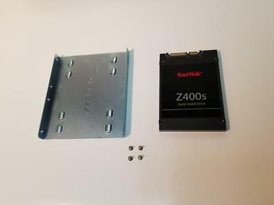 "SanDisk Z400s SATA 128GB 2.5"" SSD  with 3.5"" Caddy & Screws"