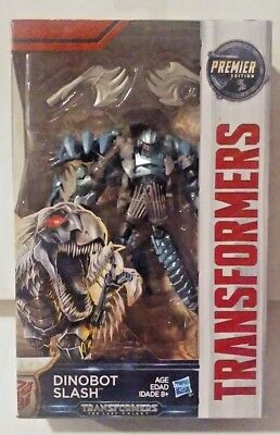 Transformers The Last Knight Premier Edition Deluxe Dinobot Slash New MISB