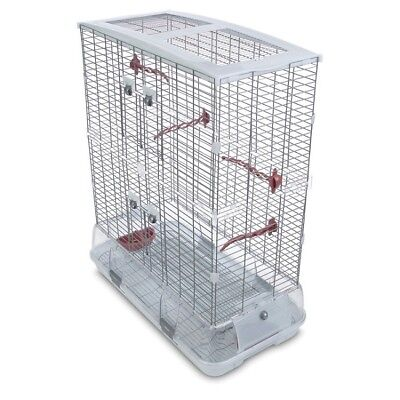 Large Bird Cage Feeder Perch Small Cockatiel Parakeet Kids Pet Crate House Kit