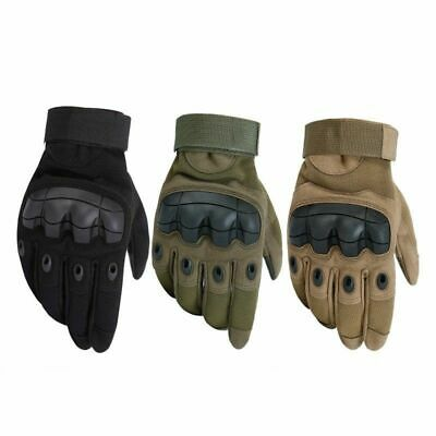 All Purpose Tactical Mechanics Wear Construction Gloves Heavy Duty Work Police